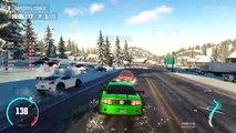 Para y carrera de invierno en Mustang niños juegos sobre los coches de carreras coches historietas 3d ONLAY