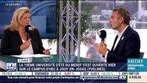 """""""L'image de la France a changé ... Vue de l'étranger, la présidence d'aujourd'hui est beaucoup plus active"""", Alexandre Mars - 30/08"""