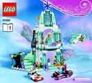 Castillo el Delaware por de Elsa congelado hielo espumoso lego disney 41062 ❤ juego el brillante castillo hiel