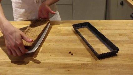 Recette vidéo de la tarte au chocolat sans gluten