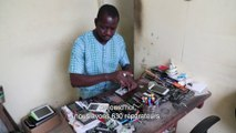 La collecte des déchets en Afrique - Recyclage des Mobiles