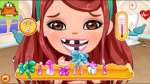D pour Jeu dessins animés Barbie chez le dentiste traiter la fée des dents de dents a un cadeau de Barbie