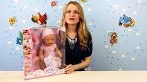 Bébé née création poupée pour les gars hé Merci Zapf poupée 818695 en revue
