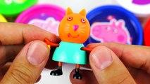 Boîtes Oeuf des œufs petit mon porc jouer poney Peppa doh surprise sopkins 2
