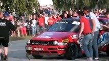 ラリー事故!ラリードライバーはやっぱり凄い!【1】ドリフト!CRAZYな車達!street race, drift,engine swaps, Crazy Car