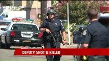 Deputy Killed, Two California High Patrol Officers Shot, At Least Three Suspects in Custody