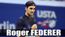 Roger Federer beats Frances Tiafoe in five sets - R1-US Open 2017 Highlights HD