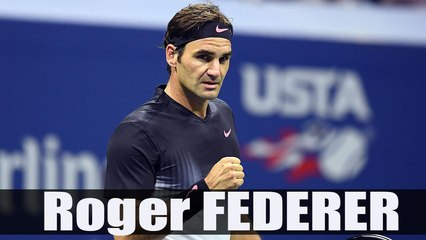 Roger Federer beats Frances Tiafoe in five sets - R1-US Open 2017 Highlights HD