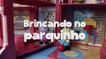 Faire gentleman musique ne dans aucun porc Peppa george vomisse disneykids jouet Brésil portugais parc