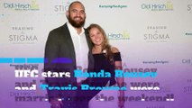 Photos: Ronda Rousey, Travis Browne tie the knot!