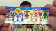 Des balles jouets avec Chupa Chups balles Fixiki racpakovka surprend jouets surprendre chupa-chups