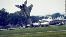 MiG-29 Pilot Ejects Two Seconds Before Crash
