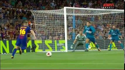 El Clasico - SuperCopa 2017-08-13 - Barcelona vs Real Madrid - Highlights