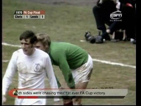 FA Cup Final 1970 - Chelsea FC vs Leeds United - Highlights