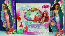 Et Baignoire changer couleur une fleur petit sirène Princesse douche douche le le le le la jouet jouets Disney ariels