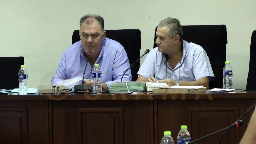 Δημοτικό Συμβούλιο Δήμου Παιονίας 29-08-2017