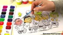 DRAWING CHARACTERS SNOOPY/ the Peanuts Movie / Como dibujar a Snoopy / how to draw Snoopy