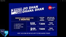 JIO Dhan Dhana Dhan OFFER vs Summer Surprise OFFER | 303 vs 309 | JIO 4G PRIME Tariff Plan