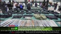 HALLAN ARSENAL DE ARMAS DE GUERRA EN CÁRCEL CONTROLADA POR PANDILLAS EN HONDURAS.