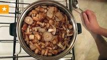 Dans le champignons crème champignons miam miam-miam recettes