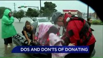 Tips For Donating to Harvey Victims