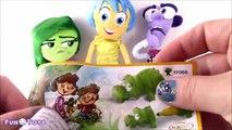Dégoûter poupées des œufs à lintérieur ouvrir hors hors avec disney pixar surprise, 3 kinder surprise, jo kinder