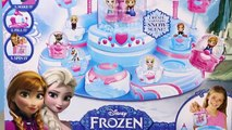 Disney Frozen Glitzi Globes Queen Elsas Ballroom Water Playset Toy Maker + Display Cookie
