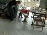 Bataille de ballons avec mon parrain