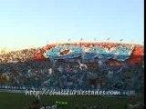 Tifo & L'entrée des joueurs de L'om (Om-Rennes2007)