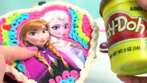 Playdoh DohVinci DIY Disney Frozen Chocolate Candy Box Valentines Day Holiday Toy Play Doh
