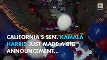 Kamala Harris backs Bernie Sanders' single-player health care bill