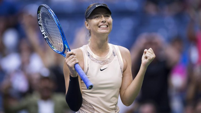 Maria Sharapova extends comeback run with victory over Timea Babos (US Open 31.08.2017)
