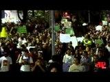 Milhares de pessoas foram às ruas na maior manifestação dos últimos 20 anos