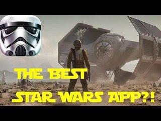AMAZING STAR WARS APP! The Best Star Wars Community App Ever?!