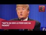 Hillary y Trump debaten sobre acuerdos comerciales / Primer debate Hillary Clinton y Donald Trump
