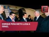 Enrique Peña Nieto arriba a Israel para el funeral de Shimon Peres