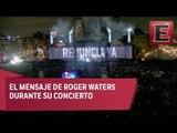 Así se vivió el concierto de Roger Waters en el Zócalo Capitalino