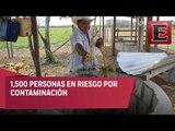 Personas en municipio de Guanajuato en riesgo por contaminación de agua