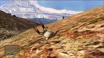 La gravité saut Lune avec Gta v super compilation