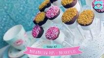 Dix bébé petits gâteaux guimauves pour douche douche Coeur topiaire  