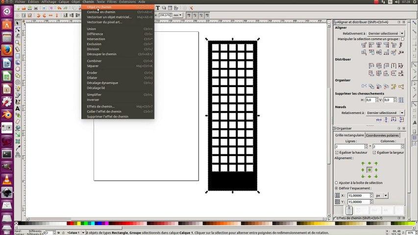 Tuto inkscape 0.92 : Illustration d'immeuble en noir et blanc