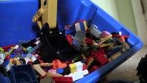 Ciment grue déverser fouilleur cinétique table de mixage mon jouets un camion Site de construction lego oh s