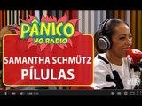 Samanta Schmütz esclarece polêmica da nota falsa para taxista   Pânico   Jovem Pan