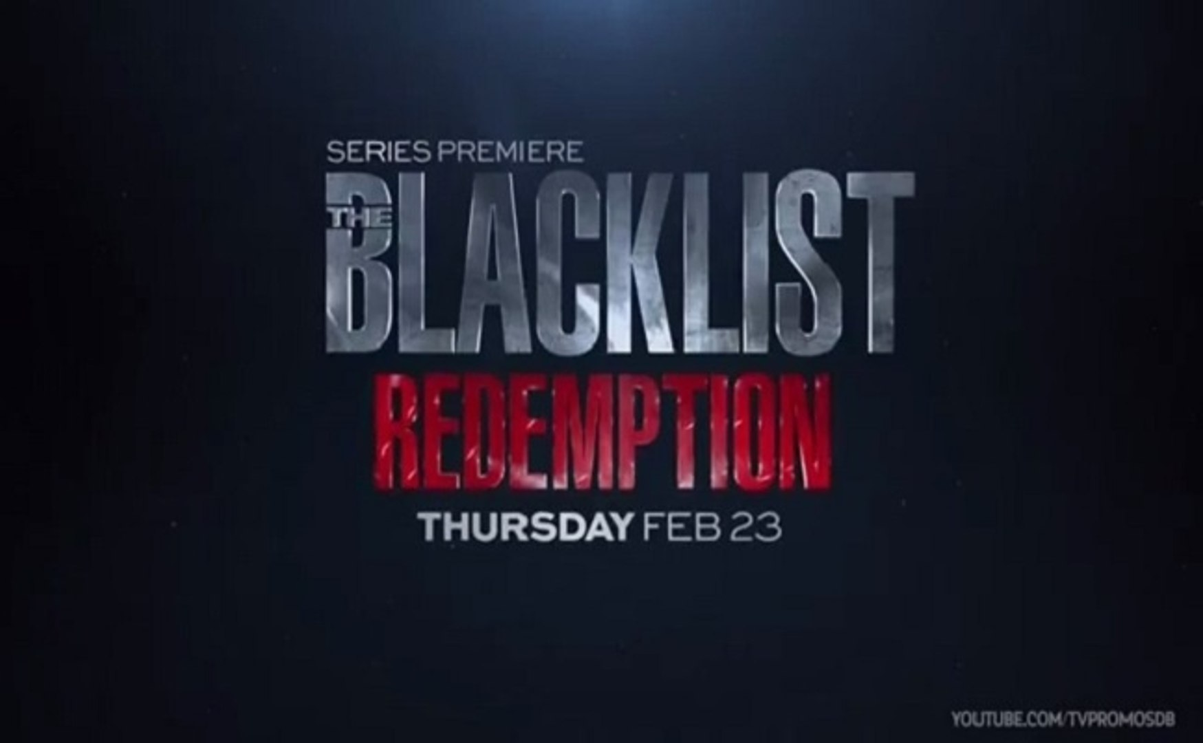 The Blacklist Redemption - Promo 1x07