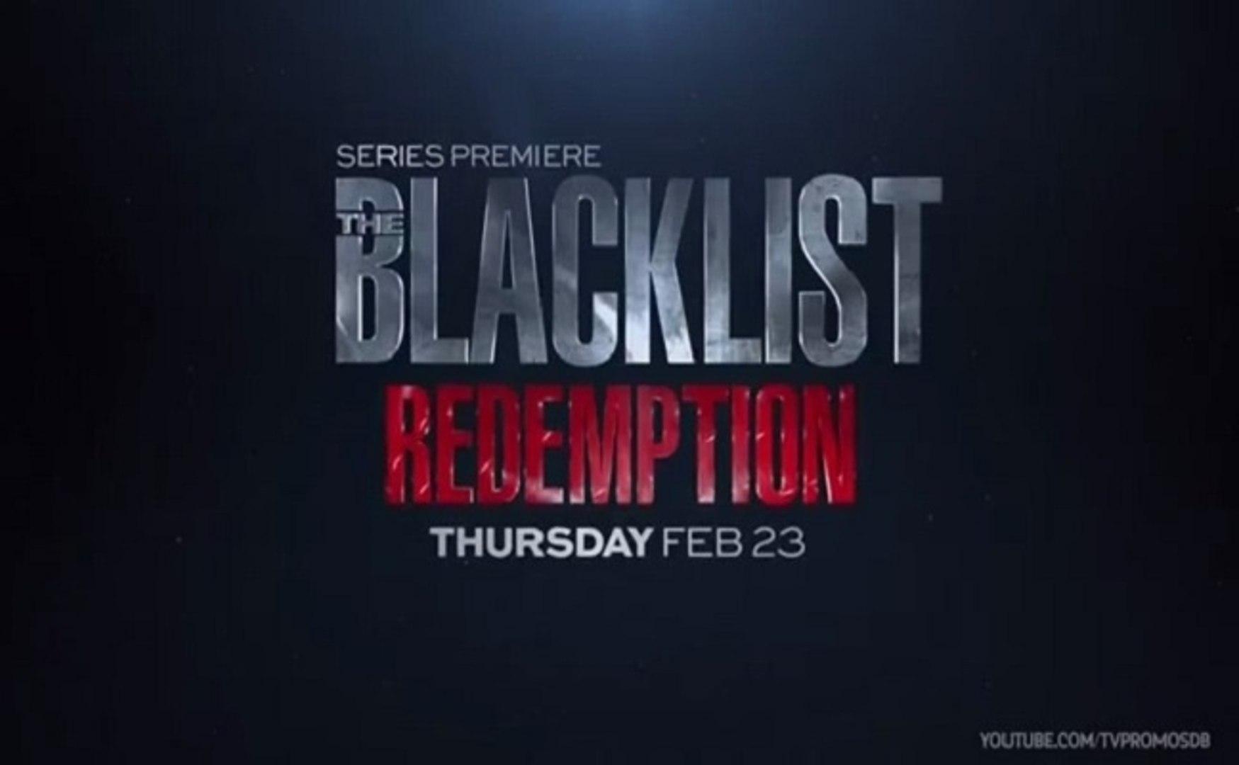 The Blacklist Redemption - Promo 1x07