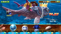 Trials Frontier Shark + Big Daddy vs Giant Crab - Hungry Shark Evolution