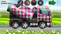 Y historieta sobre una pintura de lavado de lavado de automóviles de reparación de automóviles de dibujos animados pequeña sobre los coches