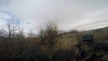 Came lutte contre la Pendant métrage casque dans de de Urbain Nous Marines gopro marines action firefight tra