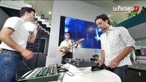 BB Brunes chantent « Eclair Eclair » en live au Parisien