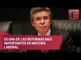 Enrique Burgos, entrevista sobre la reforma en materia de justicia laboral